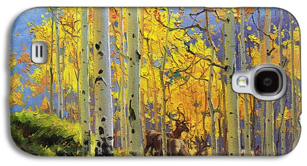 Misty Prints Galaxy S4 Cases - Aspen Kingdom Galaxy S4 Case by Gary Kim