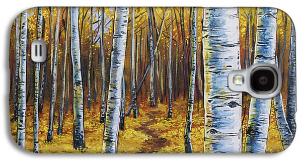 Aspen Galaxy S4 Cases - Aspen Trail Galaxy S4 Case by Aaron Spong