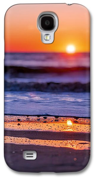 Sunset Galaxy S4 Cases - Assateague Sunrise - Ocean - Virginia Galaxy S4 Case by Sharon Norman