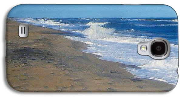 Midday Paintings Galaxy S4 Cases - Assateque Afternoon Galaxy S4 Case by Forest Stiltner
