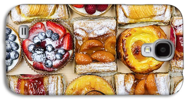 Pieces Galaxy S4 Cases - Assorted tarts and pastries Galaxy S4 Case by Elena Elisseeva