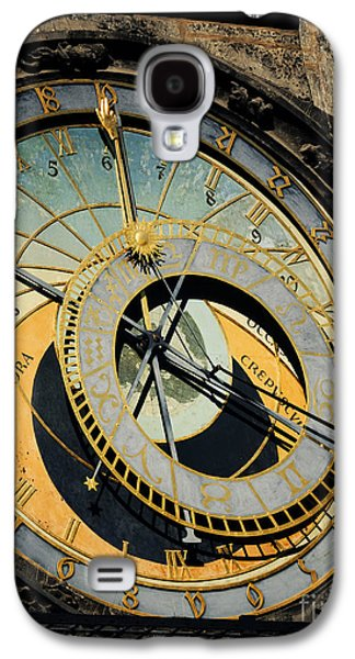 Ancient Pyrography Galaxy S4 Cases - Astronomical clock in Prague Galaxy S4 Case by Jelena Jovanovic
