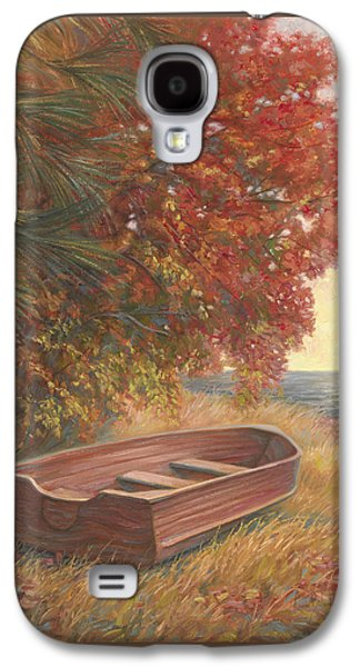 Rowboat Galaxy S4 Cases - At Rest Galaxy S4 Case by Lucie Bilodeau