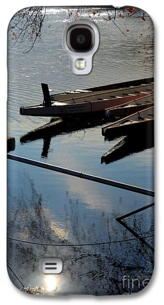 Williams Dam Galaxy S4 Cases - At the Docks Galaxy S4 Case by Mark Ayzenberg