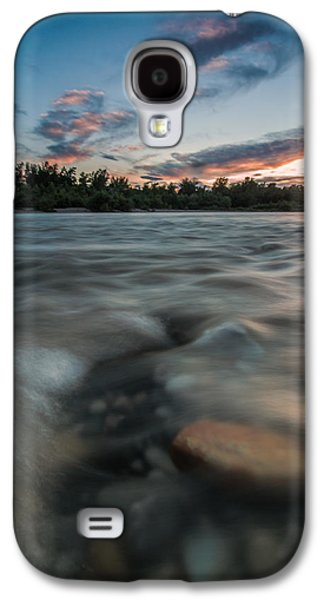 Landscape Photographs Galaxy S4 Cases - At the end of the Day Galaxy S4 Case by Davorin Mance