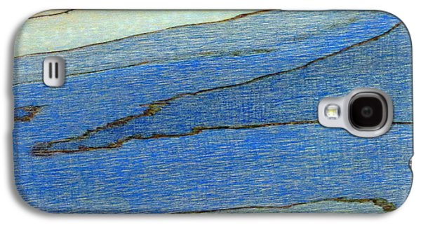 Abstractions Pyrography Galaxy S4 Cases - At the Rivers Edge Galaxy S4 Case by D Joseph Aho