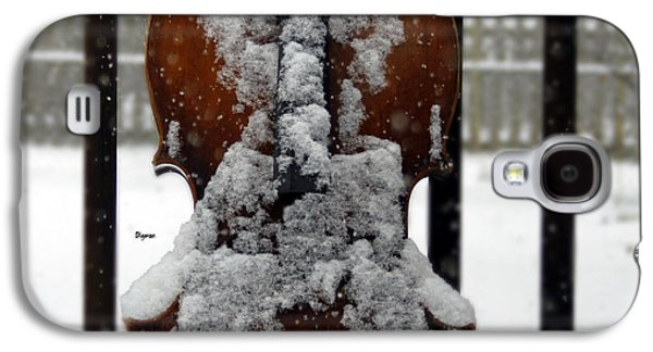 Photo Manipulation Galaxy S4 Cases - At The Sound of SnowFall Galaxy S4 Case by Steven  Digman