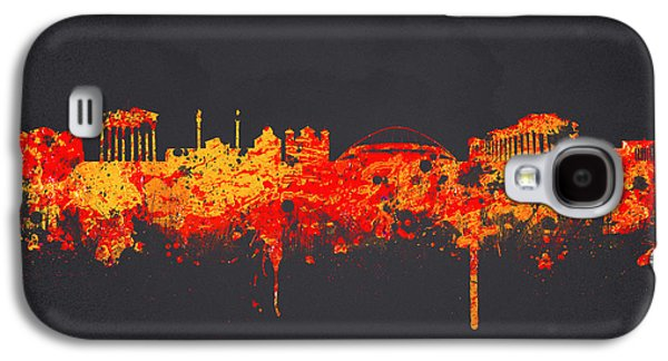 Architecture Mixed Media Galaxy S4 Cases - Athens Greece Galaxy S4 Case by Aged Pixel