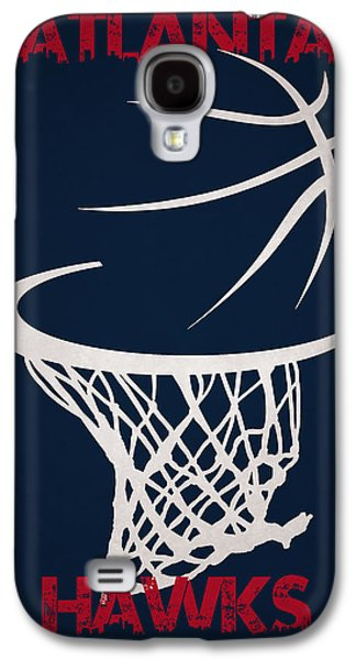 Atlanta Hawks Hoop Galaxy S4 Case by Joe Hamilton