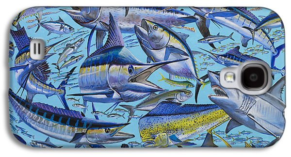 Marlin Galaxy S4 Cases - Atlantic Gamefish Off008 Galaxy S4 Case by Carey Chen