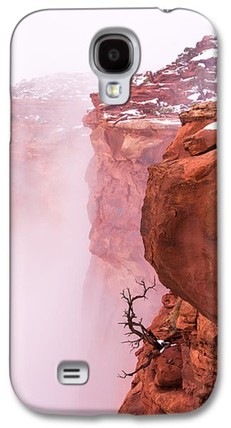 Fog Mist Galaxy S4 Cases - Atop Canyonlands Galaxy S4 Case by Chad Dutson