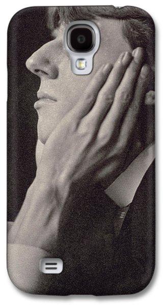 Illustrator Galaxy S4 Cases - Aubrey Beardsley Galaxy S4 Case by Frederick Evans
