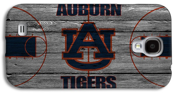 Dunk Galaxy S4 Cases - Auburn Tigers Galaxy S4 Case by Joe Hamilton