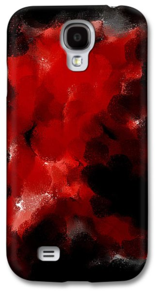 Digital Abstract Drawings Galaxy S4 Cases - Auction F W 134  Galaxy S4 Case by Sir Josef Putsche