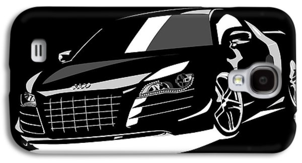 Sport Digital Galaxy S4 Cases - Audi R8 Galaxy S4 Case by Michael Tompsett