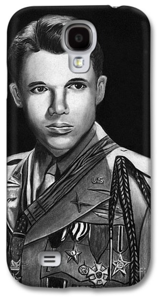 Photorealistic Galaxy S4 Cases - Audie Murphy Galaxy S4 Case by Peter Piatt
