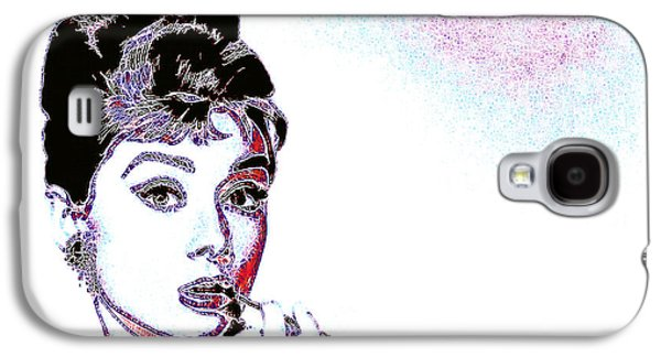 Wing Chee Tong Galaxy S4 Cases - Audrey Hepburn 20130330 Galaxy S4 Case by Wingsdomain Art and Photography