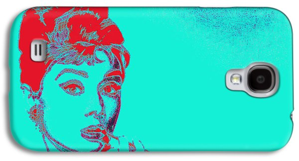 Wing Chee Tong Galaxy S4 Cases - Audrey Hepburn 20130330v2p128 Galaxy S4 Case by Wingsdomain Art and Photography