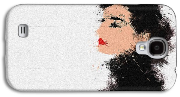 Icons Prints Paintings Galaxy S4 Cases - Audrey Hepburn Galaxy S4 Case by Miranda Sether