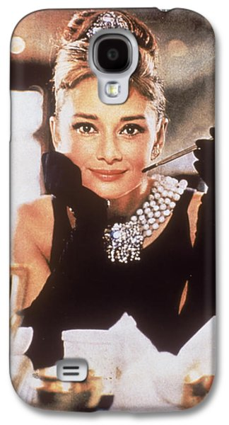1950s Portraits Galaxy S4 Cases - Audrey Hepburn Galaxy S4 Case by Nomad Art And  Design