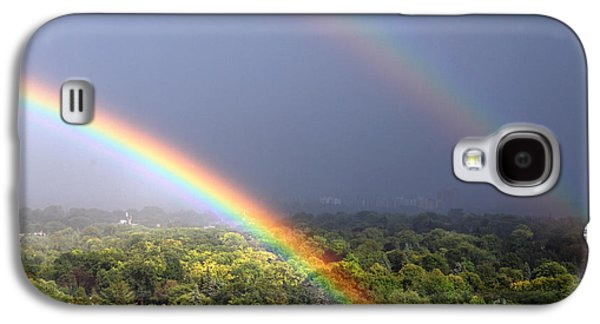 Rainbow Galaxy S4 Cases - August Double Rainbow Galaxy S4 Case by Charline Xia