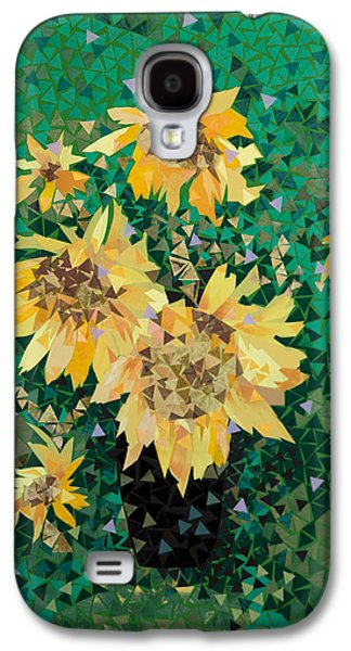 Impressionism Tapestries - Textiles Galaxy S4 Cases - Summer Galaxy S4 Case by Tanya Mayer