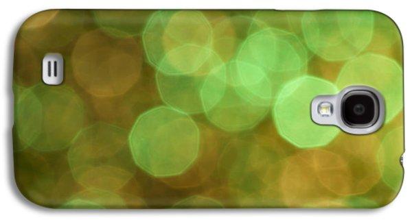 Glitters Galaxy S4 Cases - Aura Galaxy S4 Case by Jan Bickerton