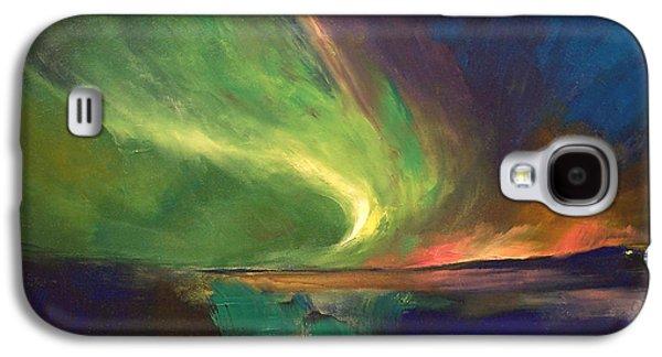 Aurora Borealis Galaxy S4 Case by Michael Creese