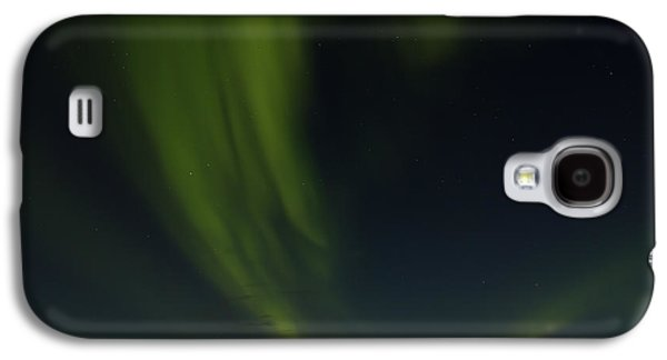 Person Galaxy S4 Cases - Aurora Borealis over Iceland Galaxy S4 Case by Andres Leon