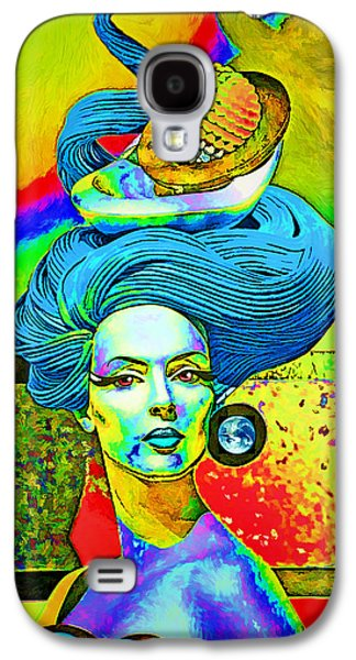 First Lady Galaxy S4 Cases - Aurora Galaxy S4 Case by Chuck Staley