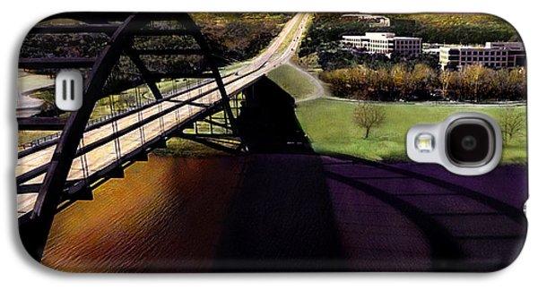 Ledge Galaxy S4 Cases - Austin 360 Bridge Galaxy S4 Case by Marilyn Hunt