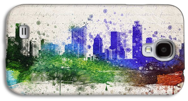 Austin In Color Galaxy S4 Case by Aged Pixel
