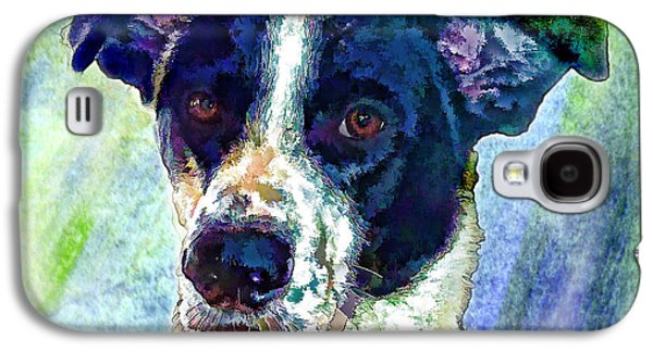 Puppies Galaxy S4 Cases - Austin Galaxy S4 Case by Robin  Waters