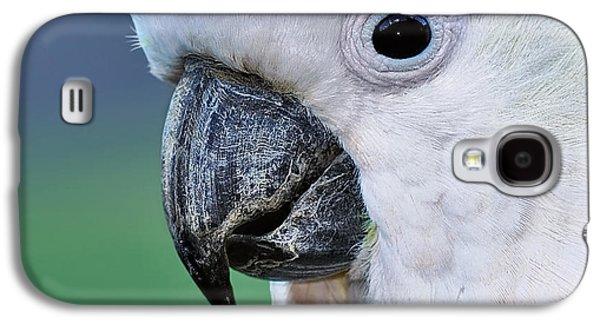 Australian Birds - Cockatoo Up Close Galaxy S4 Case by Kaye Menner
