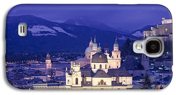 Salzburg Galaxy S4 Cases - Austria, Salzburg, Aerial View Galaxy S4 Case by Panoramic Images