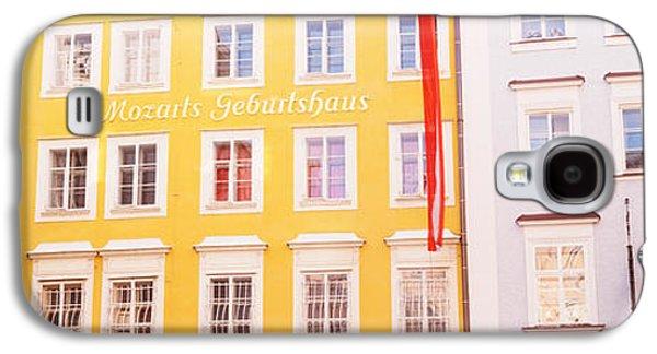 Salzburg Galaxy S4 Cases - Austria, Salzburg, Mozarts Birthplace Galaxy S4 Case by Panoramic Images