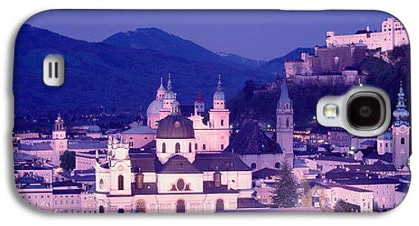 Salzburg Galaxy S4 Cases - Austria, Salzburg, Panoramic View Galaxy S4 Case by Panoramic Images