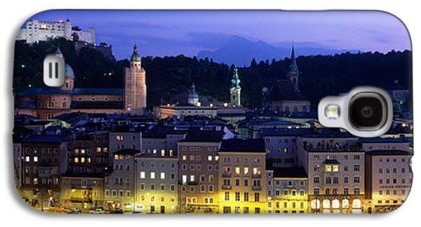 Salzburg Galaxy S4 Cases - Austria, Salzburg, Salzach River Galaxy S4 Case by Panoramic Images