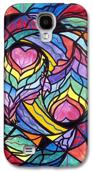 Image Paintings Galaxy S4 Cases - Authentic Relationship Galaxy S4 Case by Teal Eye  Print Store