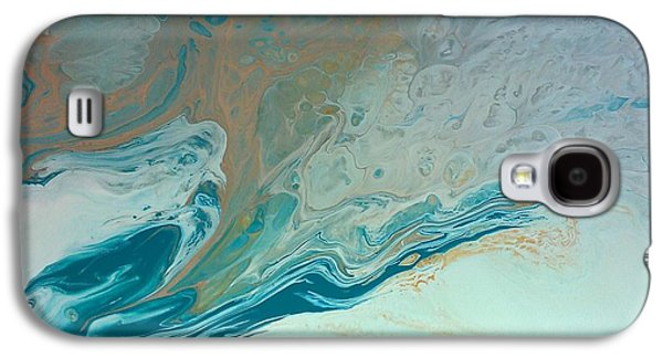 Disorder Paintings Galaxy S4 Cases - Autistic Waves Galaxy S4 Case by Sonya Wilson