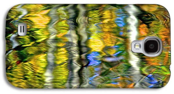 Quiet Time Photographs Galaxy S4 Cases - Autumn Abstract Galaxy S4 Case by Frozen in Time Fine Art Photography