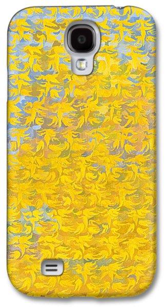 Garden Scene Galaxy S4 Cases - Autumn Acer Galaxy S4 Case by Leigh Glover