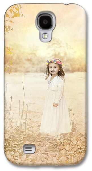 Daydreams Photographs Galaxy S4 Cases - Autumn Angel Galaxy S4 Case by Cindy Singleton