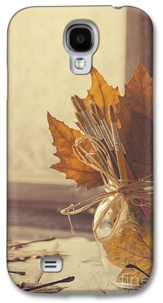 Studio Pyrography Galaxy S4 Cases - Autumn Art. Galaxy S4 Case by Jelena Jovanovic