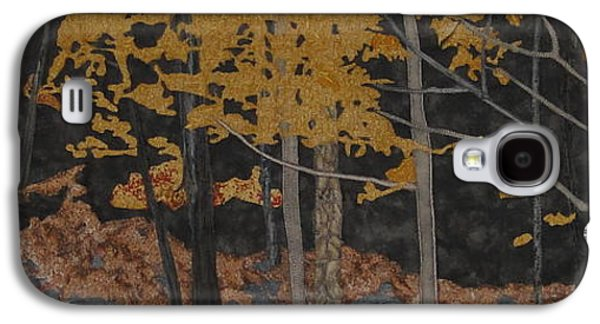 Autumn Landscape Tapestries - Textiles Galaxy S4 Cases - Autumn Carpet Galaxy S4 Case by Anita Jacques