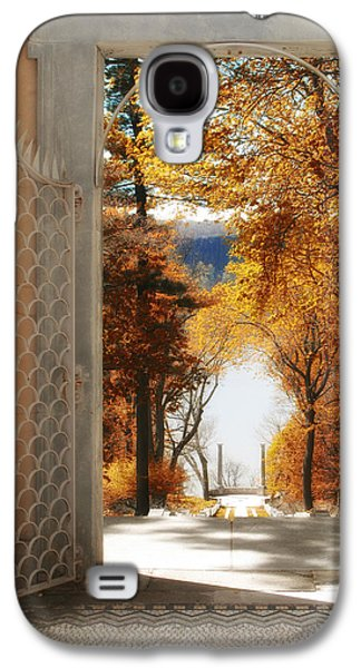 Entrance Door Galaxy S4 Cases - Autumn Entrance Galaxy S4 Case by Jessica Jenney