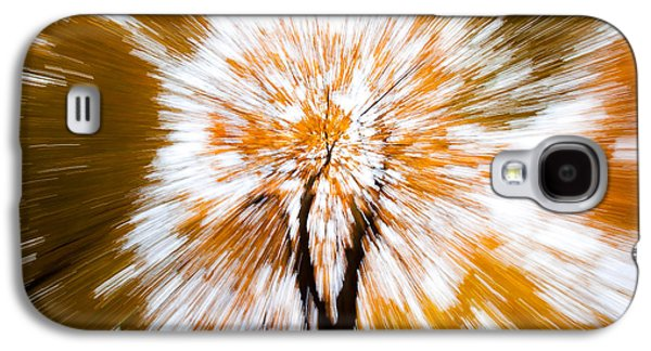 Autumn Scene Galaxy S4 Cases - Autumn Explosion Galaxy S4 Case by Dave Bowman