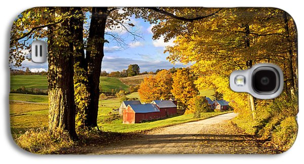 Autumn Farm In Vermont Galaxy S4 Case by Brian Jannsen