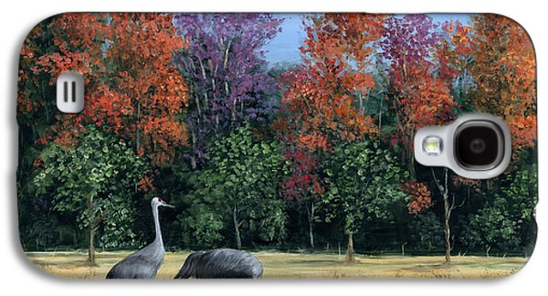 Change Paintings Galaxy S4 Cases - Autumn In Florida Galaxy S4 Case by Marilyn Dunlap