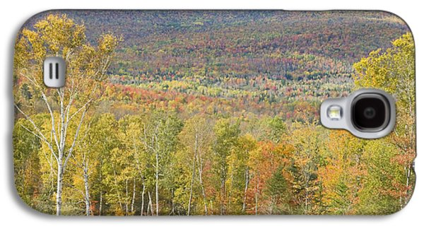 Maine Mountains Galaxy S4 Cases - Autumn In Mount Blue State Park Weld Maine Galaxy S4 Case by Keith Webber Jr